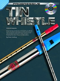 Progressive Tin Whistle - Book/CD
