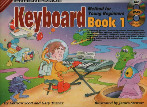 Progressive Young Beginner Keyboard 1 - Book/Audio