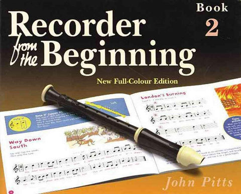 Recorder from the Beginning Book Two