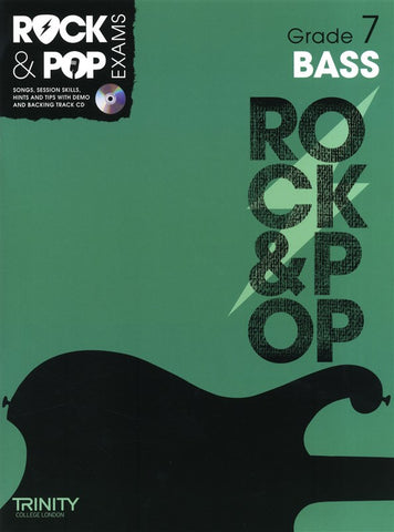 Rock & Pop Bass Guitar Grade 7