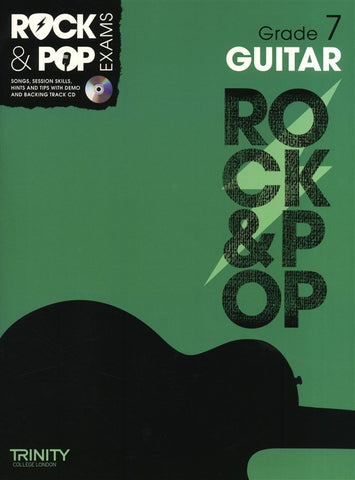 Rock & Pop Guitar Grade 7 2012-2017