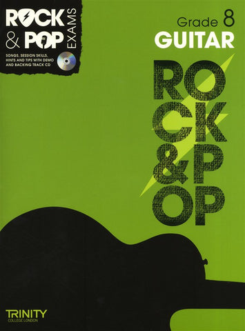 Rock & Pop Guitar Grade 8 2012-2017