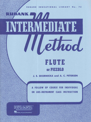 Rubank Intermediate Method Flute or Piccolo