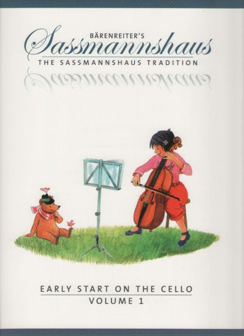 Sassmannshaus Tradition Cello Volume 1