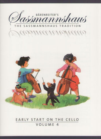 Sassmannshaus Tradition Cello Volume 4