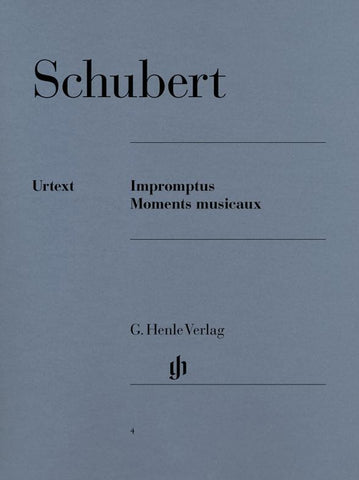 Schubert - Impromptus and Moments Musicaux (Henle)