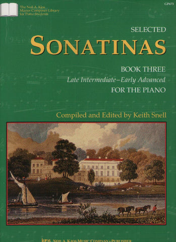 Selected Sonatinas Book 3