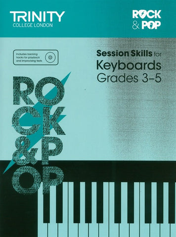 Trinity Rock & Pop Session Skills - Keyboard Grade 3 to 5