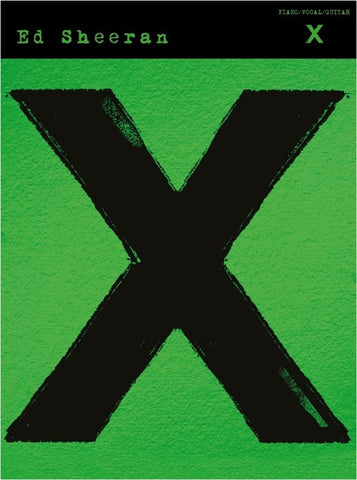 Ed Sheeran 'X' album - piano/vocal/chords