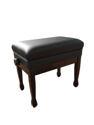 Single Piano Bench (Deluxe - with storage)