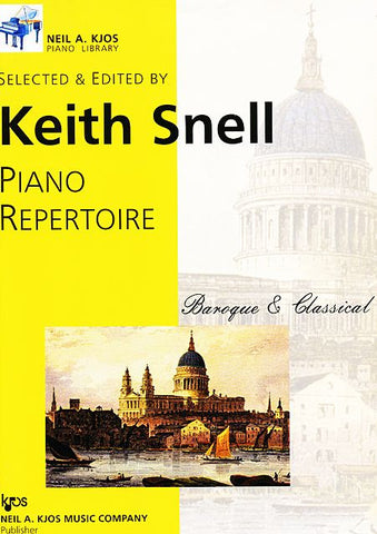 Piano Repertoire - Baroque & Classical - Level 9