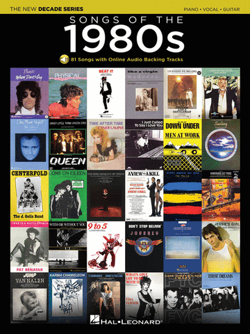 The New Decade Series: Songs of the 1980s PVG