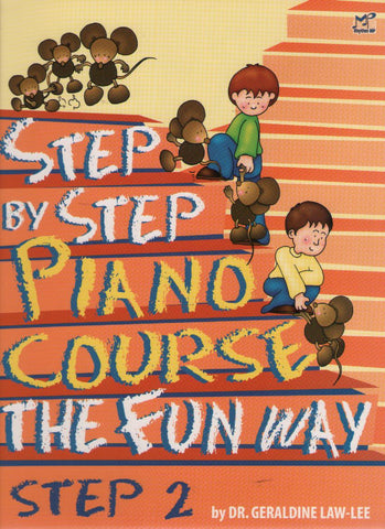 Step By Step Piano Course The Fun Way Book 2