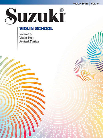 Suzuki Violin School Volume 5 Book only