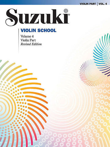 Suzuki Violin School Volume 4 Book only