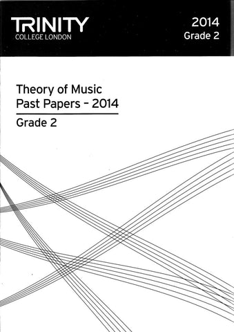 Trinity College Theory Papers 2014 Grade 2