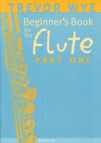 Trevor Wye Beginner's Book for the Flute Part 1 - Book Only