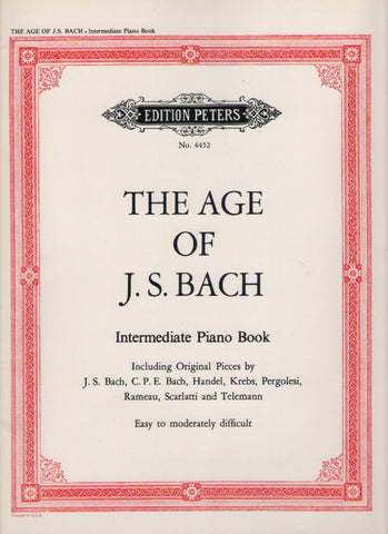 The Age of J S Bach