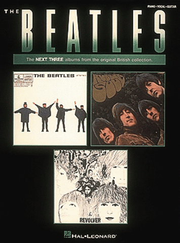 The Beatles: The next three albums from the original British collection