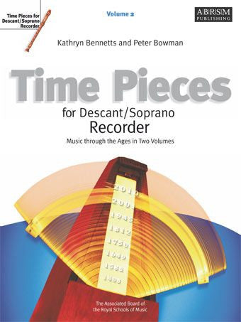 Time Pieces for Descant Recorder Volume 2