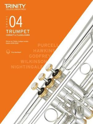 Trinity Trumpet Exam Grade 4 Book and Audio Download - from 2019-2022