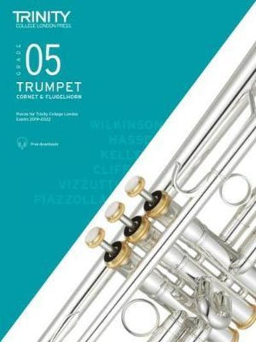 Trinity Trumpet Exam Grade 5 Book and Audio Download - from 2019-2022