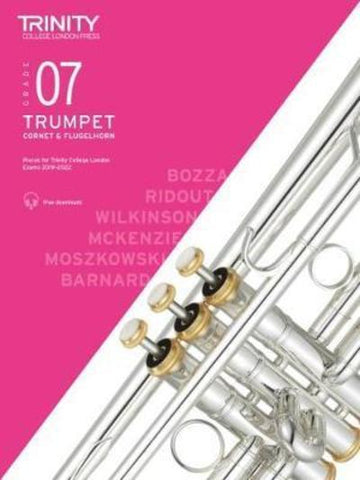 Trinity Trumpet Exam Grade 7 Book and Audio Download - from 2019-2022