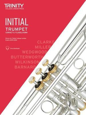 Trinity Trumpet Exam Initial Book and Audio Download - from 2019-2022