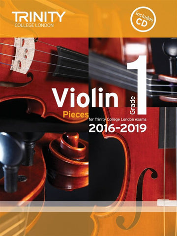 Trinity College Violin Pieces 2016-19 Grade 1: score and part, with CD