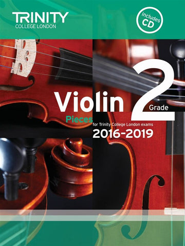 Trinity College Violin Pieces 2016-19 Grade 2: score and part, with CD