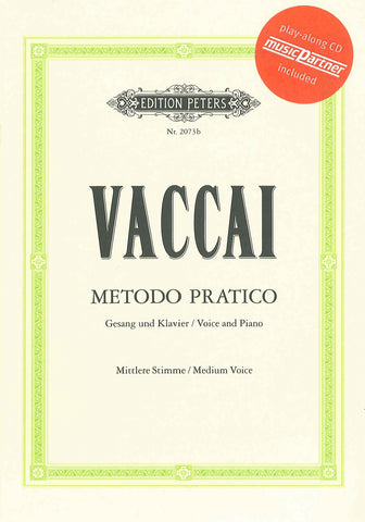 Vaccai Practical Method - Medium Voice (BK/CD)