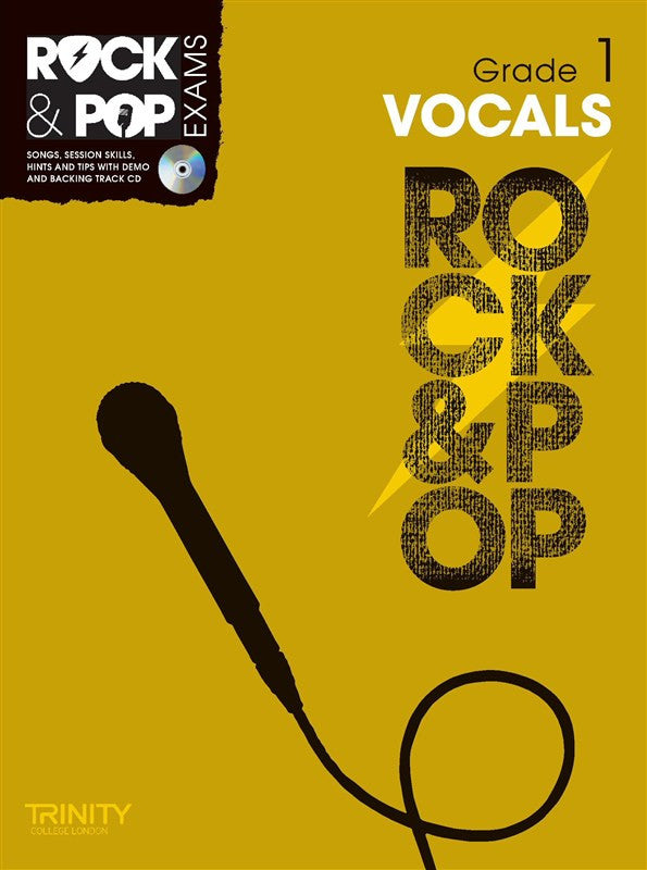 Rock & Pop Vocals Grade 1 2012-2017