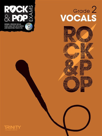 Rock & Pop Vocals Grade 2 2012-2017