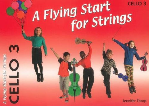 A Flying Start for Strings Cello Book 3