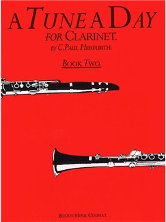 A Tune A Day Clarinet Book 2