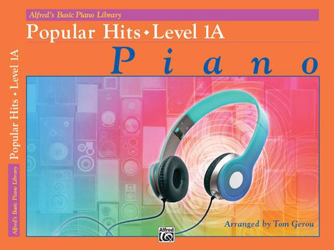 Alfred's Basic Piano Library Popular Hits 1A