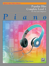 Alfred's Basic Piano Library Popular Hits 1 (Complete)
