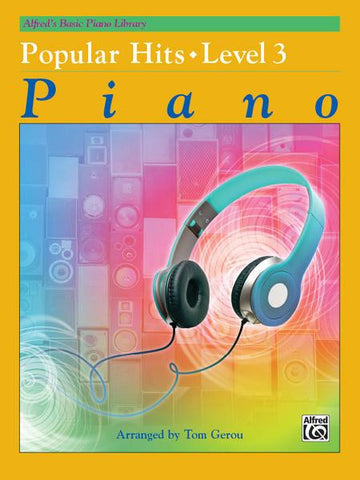 Alfred's Basic Piano Library Popular Hits 3