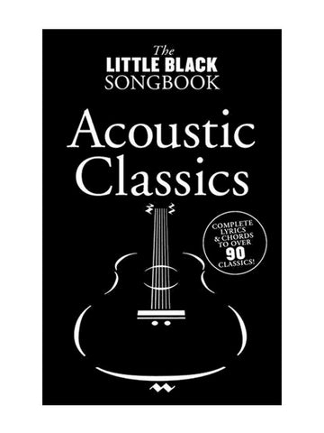 The Little Black Songbook Acoustic Classics