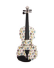 4/4 Dr Seuss Fish Pattern Deluxe Violin