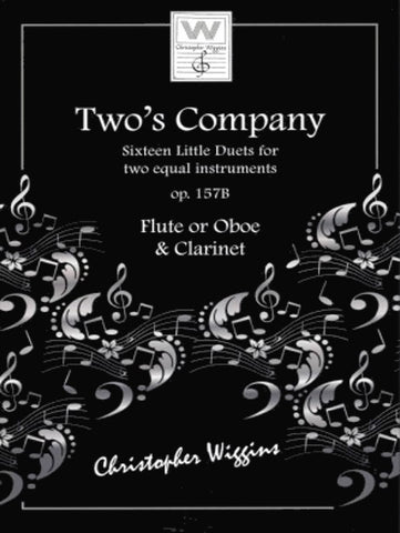 Two's Company - Flute or Oboe & Clarinet