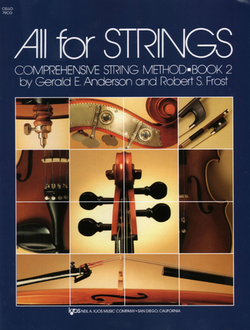 All for Strings Cello Book 2