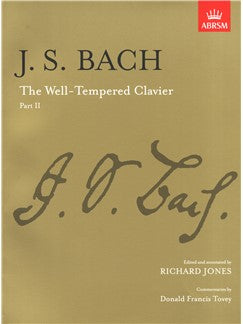 Bach - The Well Tempered Clavier Part II (ABRSM)