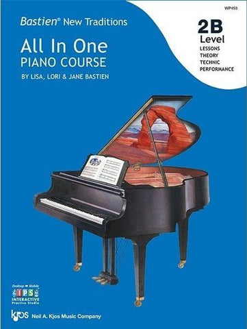 Bastien All in One Piano Course Level 2B