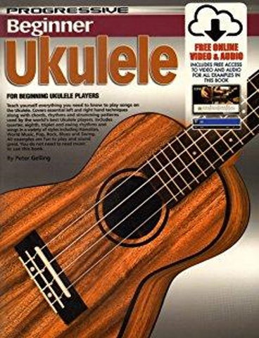 Progressive Beginner Ukulele - Book/CD/DVD