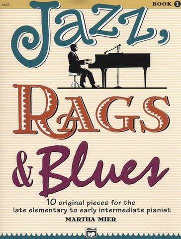 Jazz Rags and Blues Book 1 - Book Only