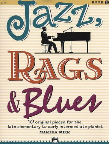 Jazz Rags and Blues Book 1 - Book/CD