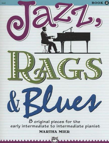 Jazz Rags and Blues Book 2 - Book/CD