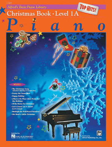 Alfred's Basic Piano Library Christmas Top Hits 1A