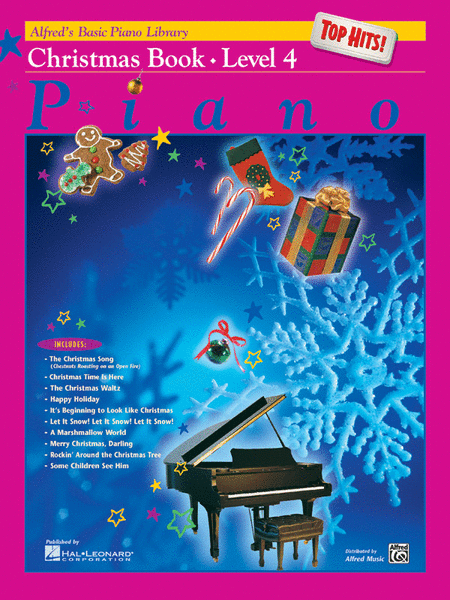 Alfred's Basic Piano Library Christmas Top Hits 4